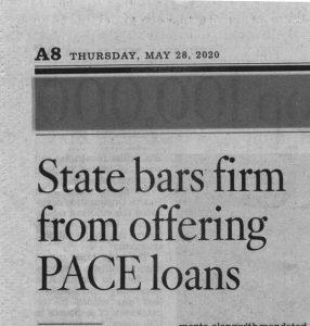 Regulators Bar Encino Contractor from Offering PACE Loans